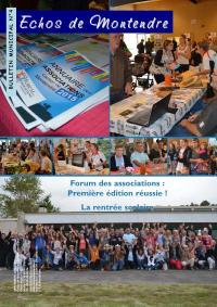 bulletin municipal de Montendre n°4, septembre 2015