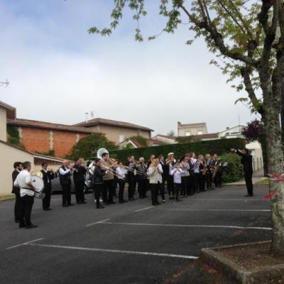 Cérémonie du 8 mai : le chant des partisans interprété par la Lyre Montendraise