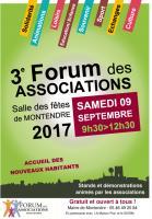 forum des associations de Montendre le 9 septembre 2017